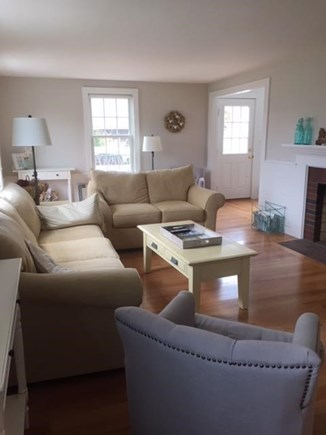 Falmouth Cape Cod vacation rental - Living Room with new furniture 05/2018