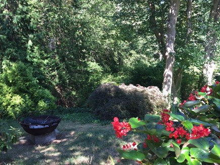 North Eastham Cape Cod vacation rental - Patio, fire pit, outdoor shower