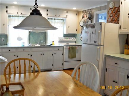 North Eastham Cape Cod vacation rental - Eat in kitchen, fully equipped (no dishwasher)