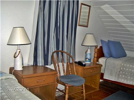 North Eastham Cape Cod vacation rental - 2 identical upstair bedrooms with half bath