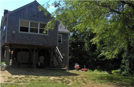 North Eastham Cape Cod vacation rental - Off street parking, patio, grill and private outdoor shower