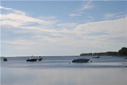 Mashpee Cape Cod vacation rental - Popponesset Bay is 3 minutes walk from the house to beach