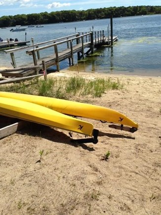 Mashpee Cape Cod vacation rental - Kayaks kept at beach for your use