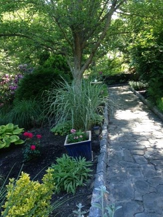Mashpee Cape Cod vacation rental - Garden walkway