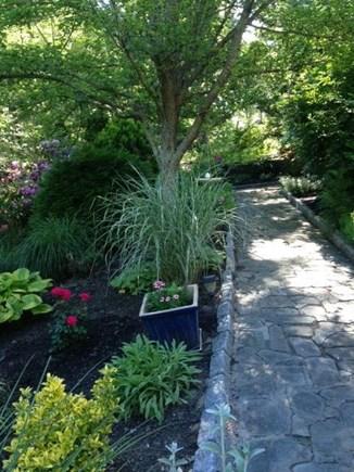 Mashpee Cape Cod vacation rental - Garden walkway