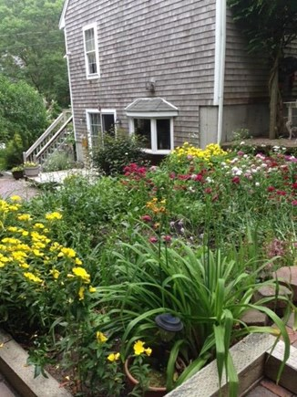 Mashpee Cape Cod vacation rental - Side view of house and gardens