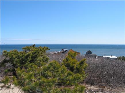 South Wellfleet Cape Cod vacation rental - View from the porch and deck