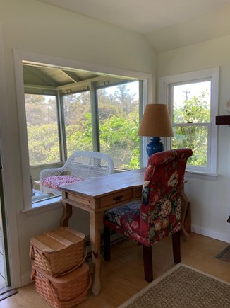 South Wellfleet Cape Cod vacation rental - Desk area