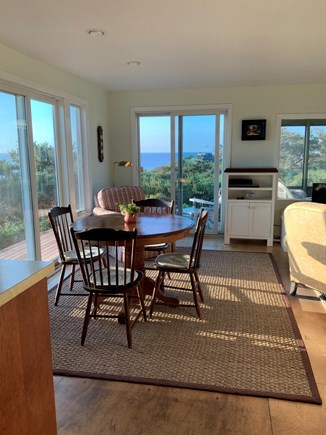 South Wellfleet Cape Cod vacation rental - Dining area