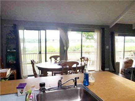 East Falmouth Cape Cod vacation rental - Vaulted ceiling kitchen, dishwasher, disposal-views to the water