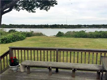 East Falmouth Cape Cod vacation rental - Direct backyard access to water...kayak and swim from yard