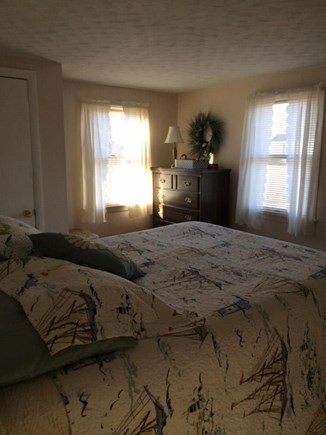 West Yarmouth Cape Cod vacation rental - Bright airy bedroom Queen Bedroom