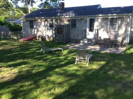 West Yarmouth Cape Cod vacation rental - Spacious backyard