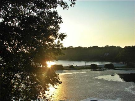 Harwich Cape Cod vacation rental - Beautiful sunsets from the expanded deck