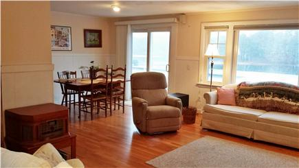 Harwich Cape Cod vacation rental - Another view of the family room area with wonderful views