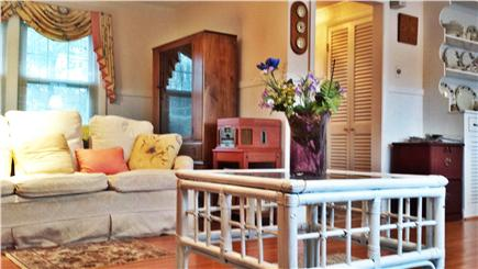 Harwich Cape Cod vacation rental - Living room dining room with seating for six
