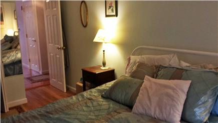Harwich Cape Cod vacation rental - Master bedroom with comfy queen bed and flat screen tv