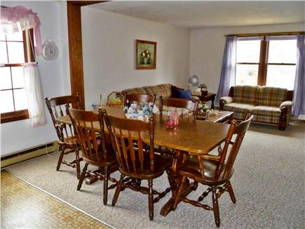 East Falmouth Cape Cod vacation rental - Dining Room Area