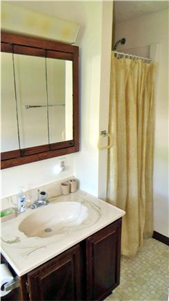 East Falmouth Cape Cod vacation rental - Bathroom #1 (for Master Bedroom)