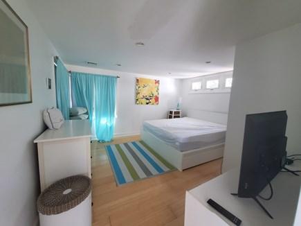 Wellfleet Cape Cod vacation rental - Master bedroom with TV