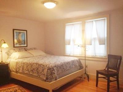 North Chatham Cape Cod vacation rental - Blue Bedroom Part of Suite has own Door & Private Door