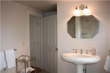 North Chatham Cape Cod vacation rental - Blue Room Guest Bathroom