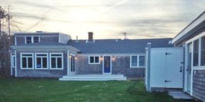 North Chatham Cape Cod vacation rental - Fore Ceas Home with Out Shower attached to Barn