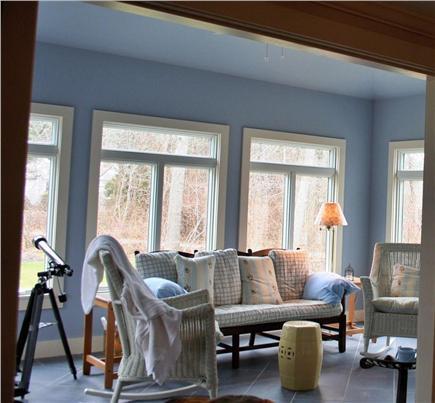 North Chatham Cape Cod vacation rental - Bright Comfortable Sunroom & TV Room