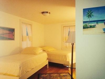 North Chatham Cape Cod vacation rental - Yellow Bedroom Part of Blue Bedroom Suite has own Door