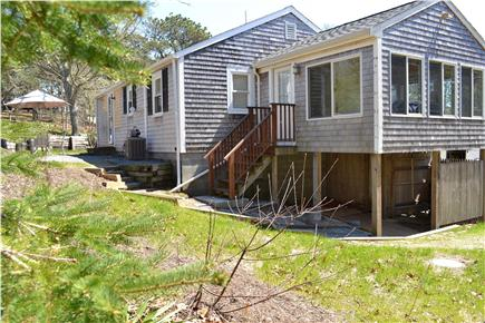 Chatham Cape Cod vacation rental - Sunroom above Outdoor Shower with Enclosed Changing Room