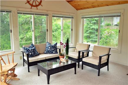 Chatham Cape Cod vacation rental - Four Season Bright and Sunny Sunroom  (Heat & A/C)