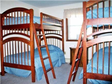 Harwich Cape Cod vacation rental - Third bedroom with bunks and double closet
