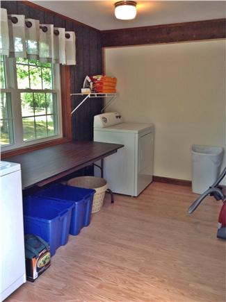 Harwich Cape Cod vacation rental - Large laundry off kitchen