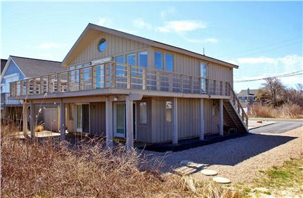Sandwich Cape Cod vacation rental - View of property from the ocean side.
