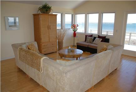 Sandwich Cape Cod vacation rental - Living Room on upper level.