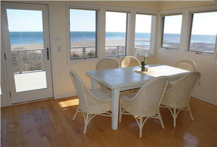 Sandwich Cape Cod vacation rental - Dining area on upper level.