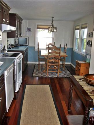 Mashpee, Popponesset Cape Cod vacation rental - Kitchen and Dining Area (2 Leafs and Extra Chairs)