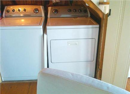 East Sandwich Cape Cod vacation rental - Full size washer and dryer located on main level in laundry area.