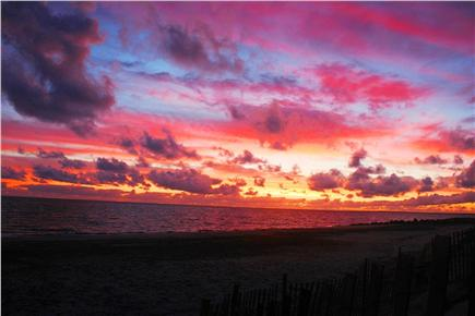 East Sandwich Cape Cod vacation rental - Watch as Mother Nature puts on yet another colorful sunrise show.