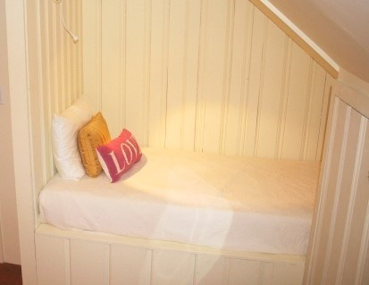 East Sandwich Cape Cod vacation rental - Cozy built in Twin bed in upstairs King Bedroom