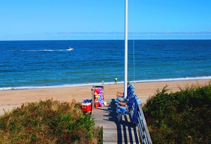 East Sandwich Cape Cod vacation rental - Enjoy looking out onto the Bay.