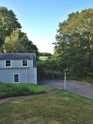 Centerville Centerville vacation rental - Looking back to garage from rear porch!