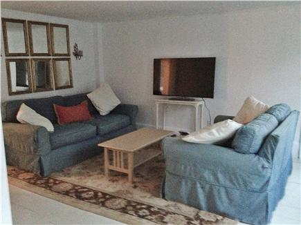 Centerville Centerville vacation rental - Living Room, complete with cable, sound bar and board games!