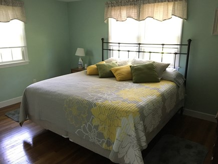 Dennis Port Cape Cod vacation rental - Master bedroom features King Sized bed and oversized room