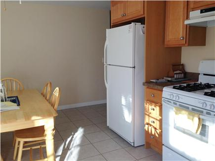Dennis Port Cape Cod vacation rental - Tile floor, full sized refrigerator, gas stove
