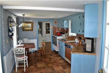 Chatham Cape Cod vacation rental - Kitchen with back door to Deck, frontdoor to car