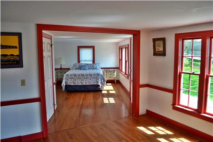 Chatham Cape Cod vacation rental - Downstairs Master Bedroom with 1 new Queen Bed