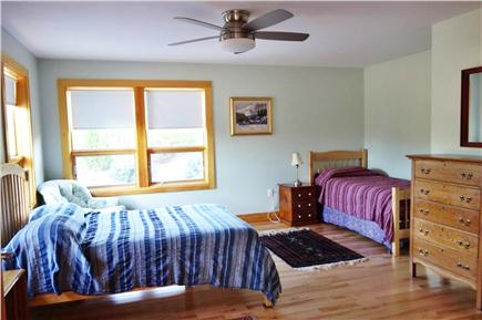 Wellfleet Cape Cod vacation rental - Lower level bedroom with double and trundle (2 twins).