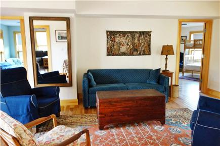 Wellfleet Cape Cod vacation rental - Lower level living area.