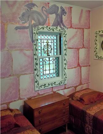 West Harwich Cape Cod vacation rental - Atmospheric Castle Room
